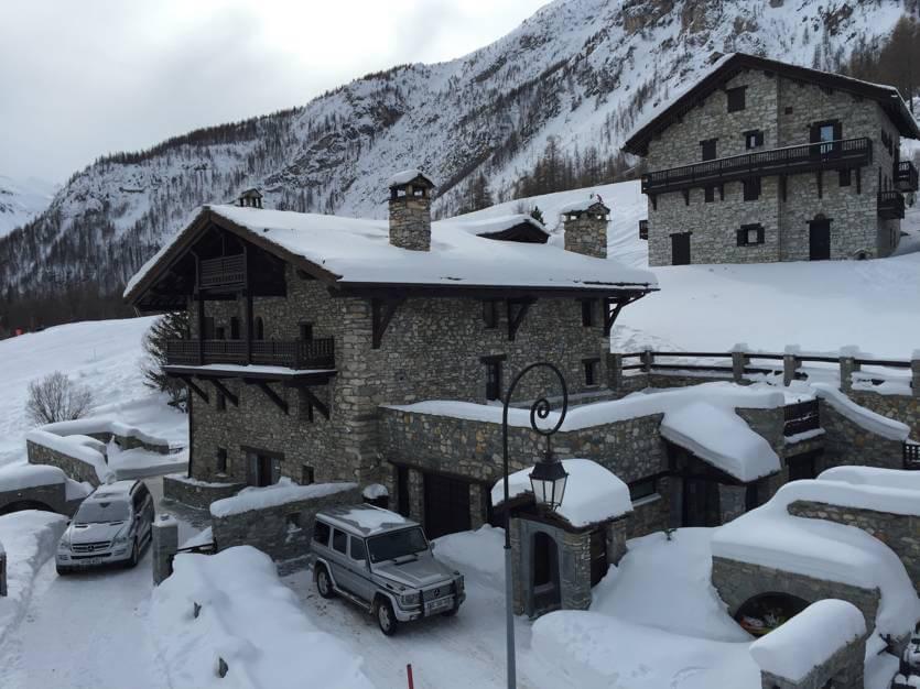 luxury ski chalets val d isere swiss ski school