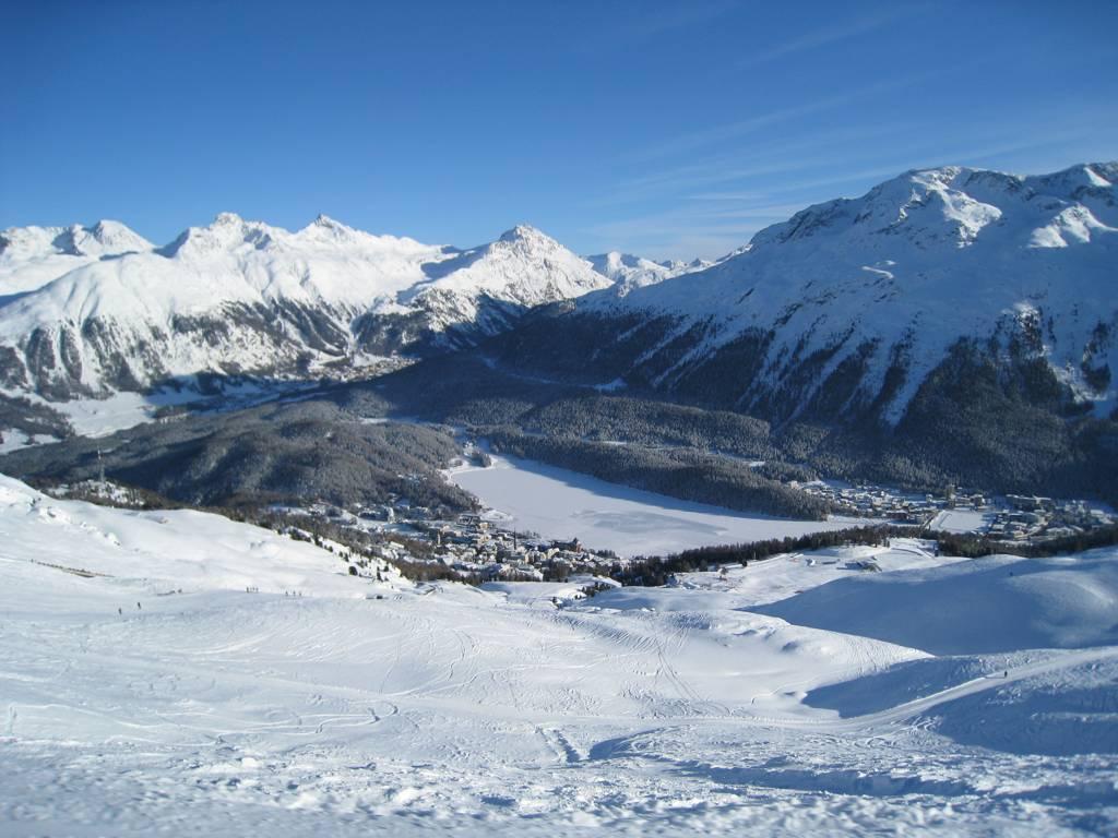 St Moritz Ski Resort Swiss Ski School Kids Ski Lessons